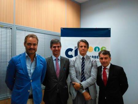La firma del acuerdo ha contado con la presencia del Presidente de CIT, D. Juan José González y los socios fundadores de Bértolo & Granda, D. Luis Granda, D. Ulises Bértolo y D.Iván Bértolo.